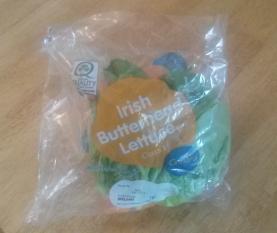 Lettuce in a bag