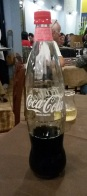 Coke in glass...