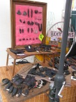 ...goods made from old tyres.