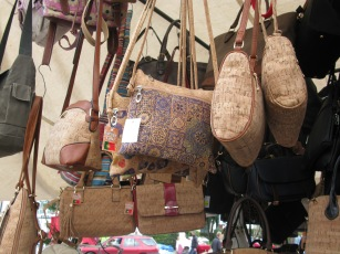 Handbags made from cork!